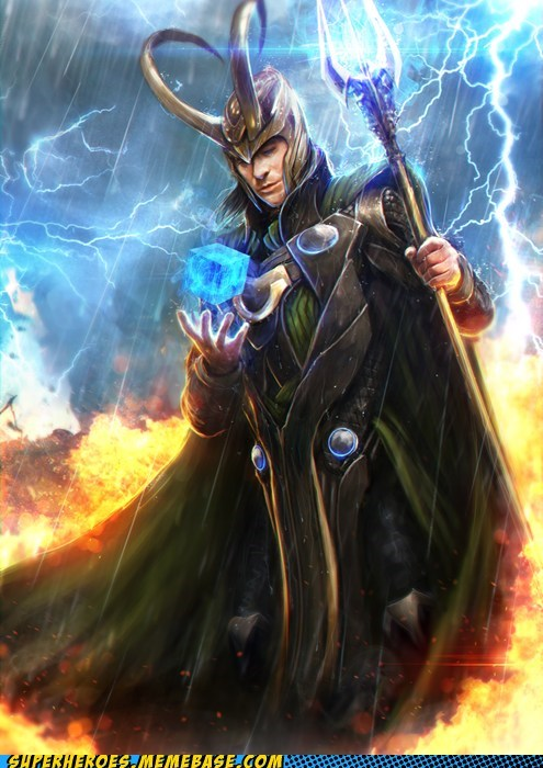 amazing Awesome Art cube loki tesseract - 6353360128