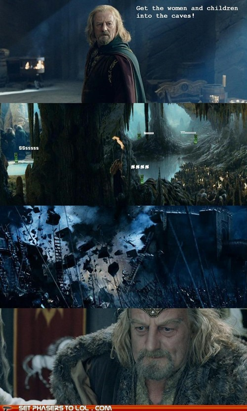 Lord of the Rings - Mistakes Were Made
