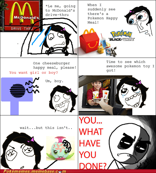 best of week cards McDonald's Pokémemes rage comic Rage Comics toys - 6353746688