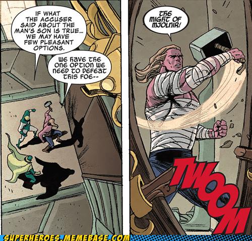 mjolnir plans Straight off the Straight off the Page Thor wtf - 6353803520
