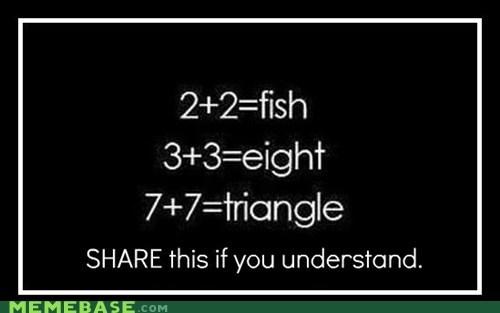 2 best of week fish intelligence math Memes secret shapes - 6354002176