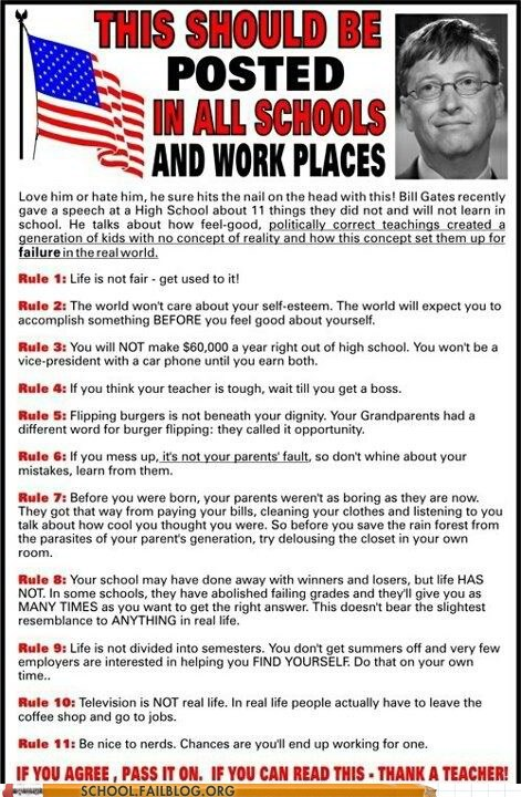 Bill Gates thank a teacher Words Of Wisdom - 6354250240