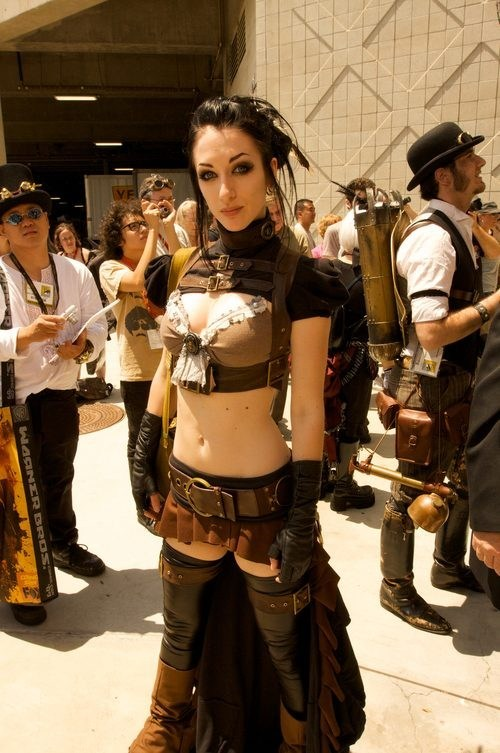 cons cosplay Sexy Ladies Steampunk - 6354530560