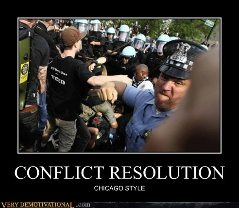 CONFLICT RESOLUTION CHICAGO STYLE