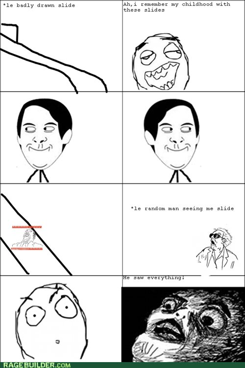 Rage Comics,raisin face,slide,spiderpman