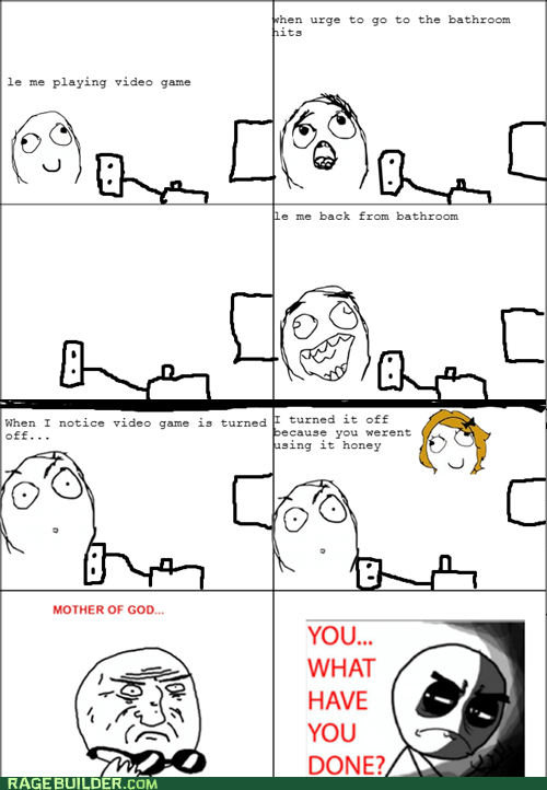 parenting peetimes Rage Comics video games - 6355192320