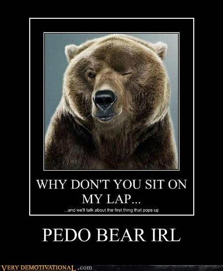 PEDO BEAR IRL