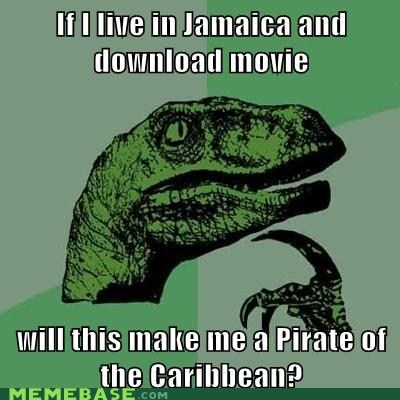 caribbean,download,jamaica,Movie,philosoraptor,pirates