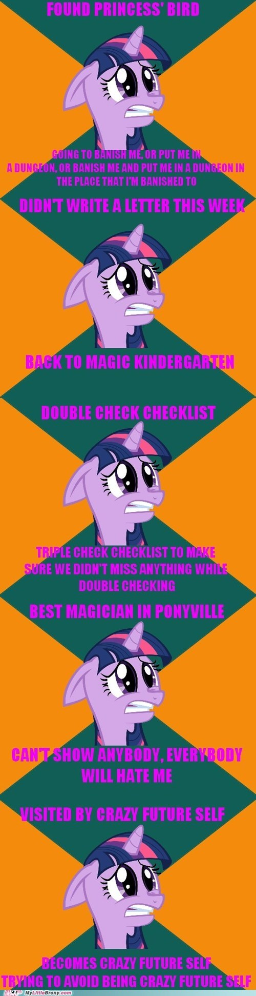 crossover meme paranoid pony twilight sparkle - 6355538176