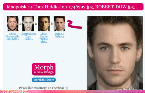 actor celeb chris evans chris hemsworth face morph face swap funny Hall of Fame robert downey jr sexy tom hiddleston - 6355546624