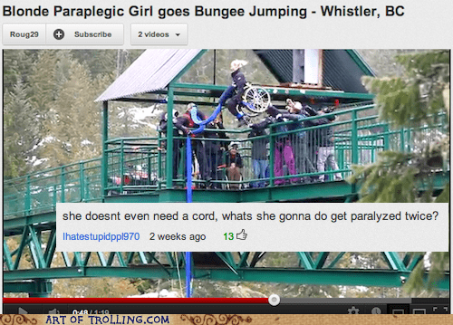 bungee jumping paraplegic wtf youtube - 6355882240