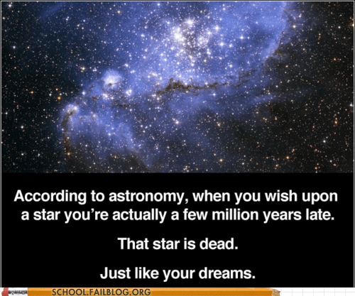 Astronomy,Hall of Fame,pinocchio,wish upon a star,your dreams are dead