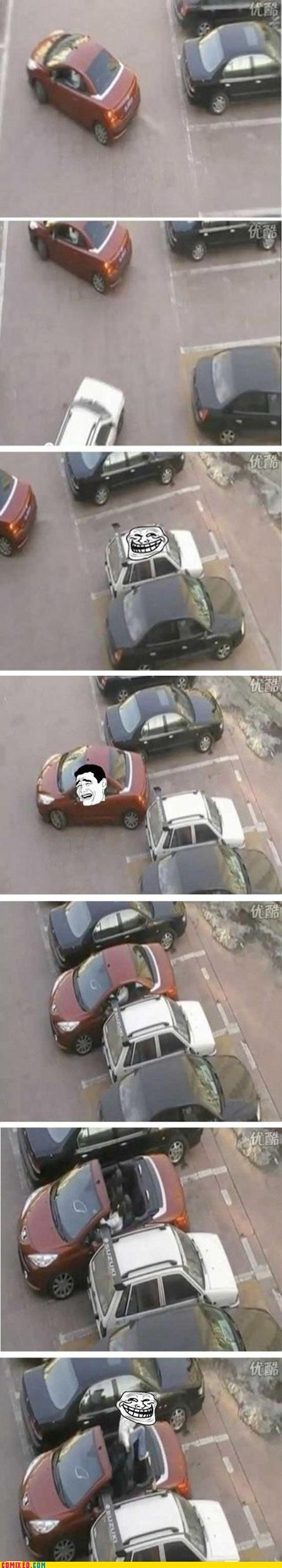 best of week car jerk move parking Sweet Justice the internets troll