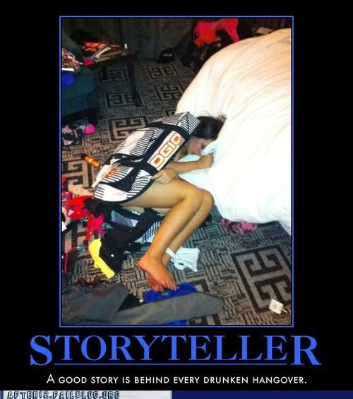 drunken hangover,hangover,storyteller