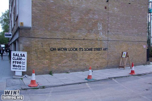clever graffiti hacked irl Street Art - 6356173312