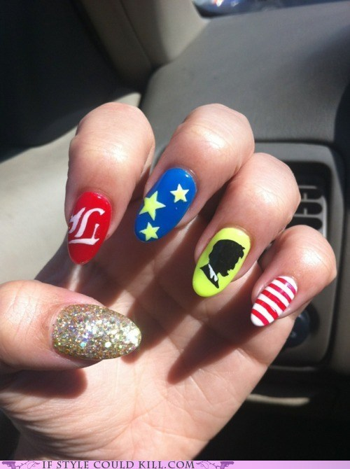 abraham lincoln cool accessories nail art nails patriotic - 6356183040