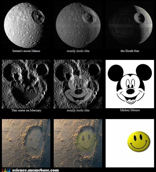 Astronomy galaxy Memes mercury mickey mouse moons smiley face