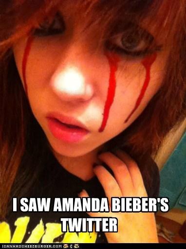 amanda bieber,emolulz,eye bleeding,twitter