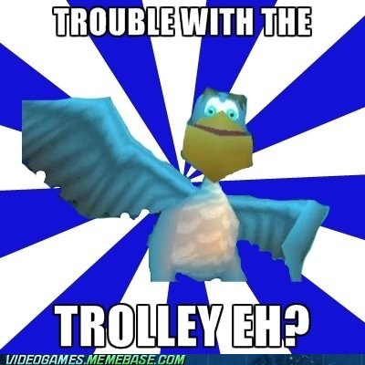 pelican spyro the feels trouble with the trolley - 6356715776