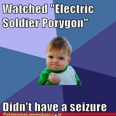 meme Memes porygon seizure success kid - 6356724992