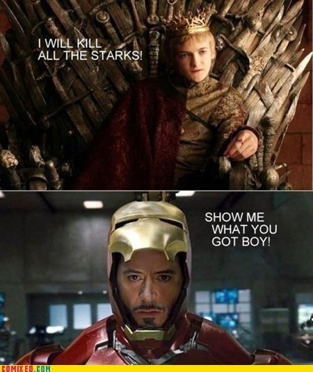 best of week,Game of Thrones,iron man,tony stark,TV