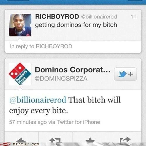 dominos pizza tweet twitter - 6356954368