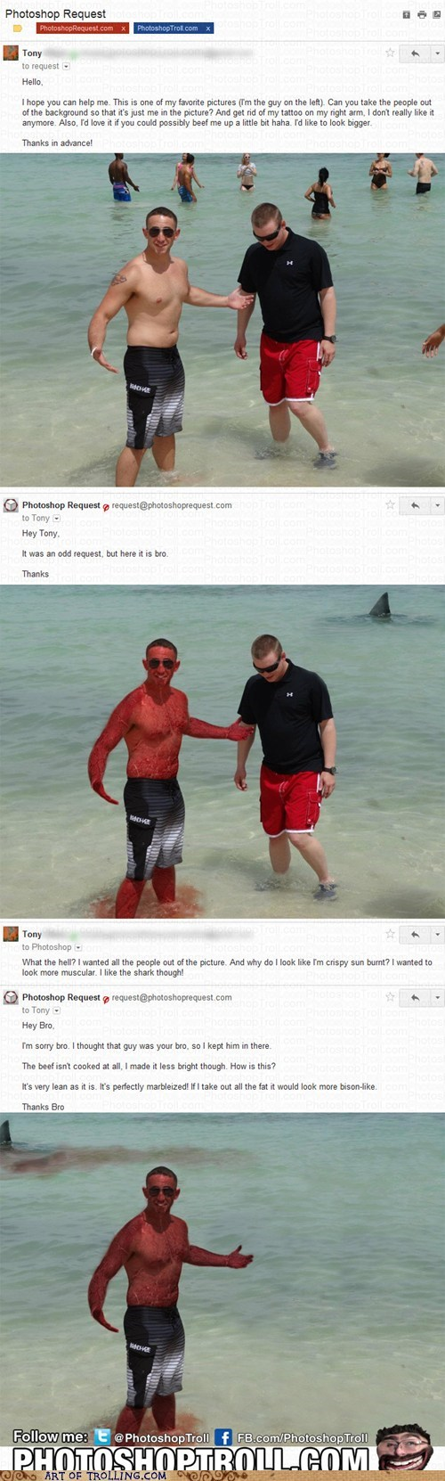 beach Beef photoshop - 6356999680