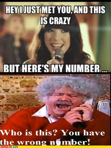 amanda show best of week call me maybe Memes TV wrong number - 6357078016