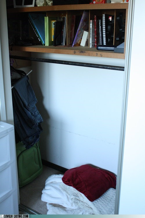 closet hiding place shelves - 6357299456