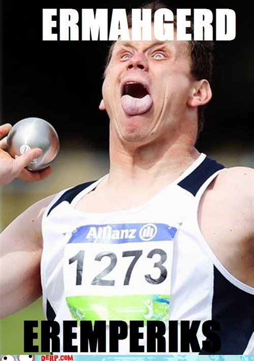 derp,go for the gold,olympics,shot put,sports