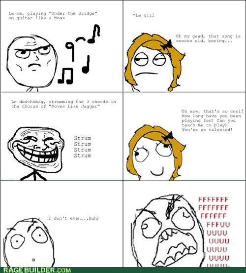 fu guy,guitar,moves like jagger,Rage Comics