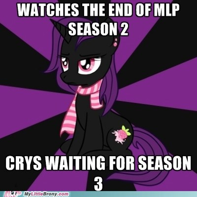 emo pony meme Sad season 3 - 6358720000