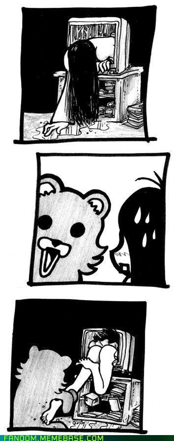 Fan Art Memes pedobear samara the ring - 6358731520
