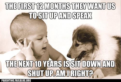baby dogs shut up sit up speak - 6359268352