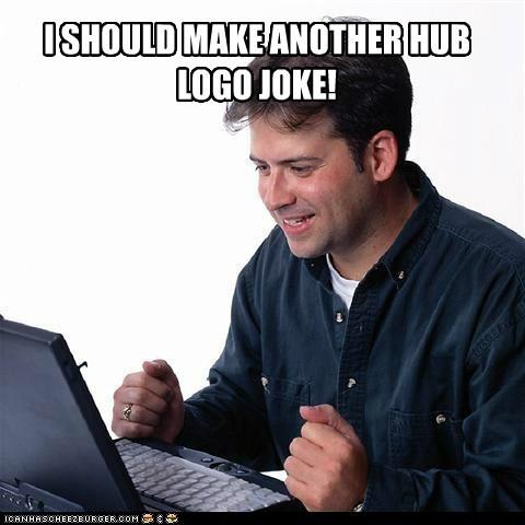 hub logo logo meme - 6359344128