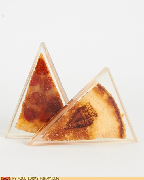 art lucite pizza preserved - 6359619584