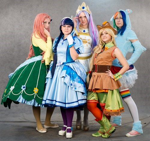 Bronies cosplay my little pony ponies - 6359687936