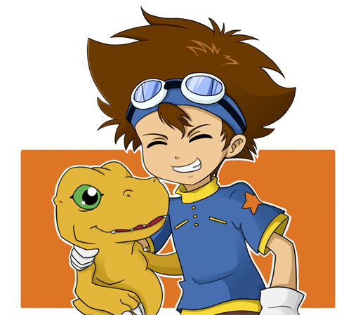 agumon anime digimon Fan Art tai - 6359705344