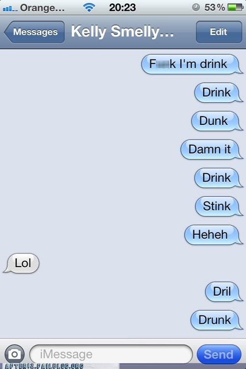 autocorrect AutocoWrecks drunk iphone sms text text message texting txt msg - 6359752704