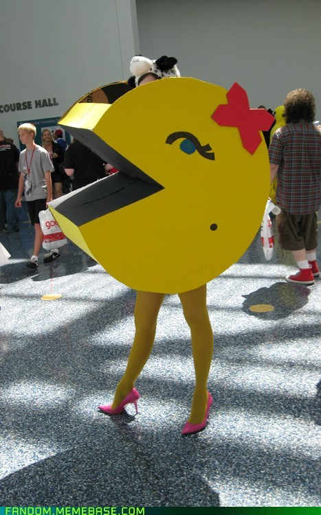 convention cosplay ms pacman video games - 6359762688