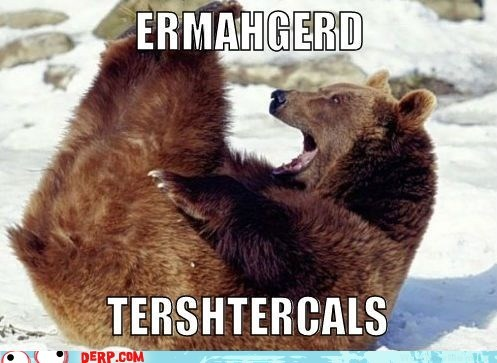 animals balls bear derp Ermahgerd private parts - 6359787008