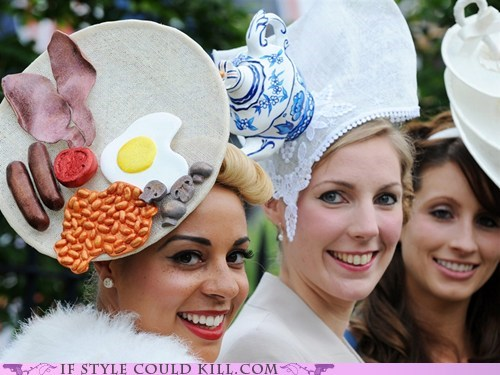 cool accessories food hats royal ascot - 6359796736