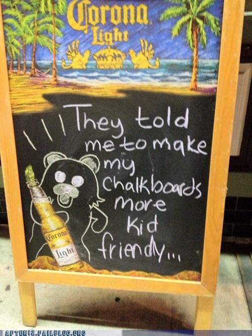 beer chalkboard corona pedobear - 6359849472
