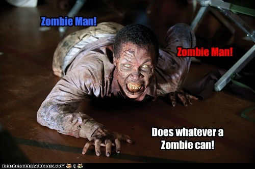 crawling song superhero The Walking Dead zombie - 6359855104