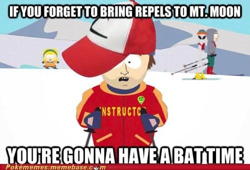 bat time meme Memes mt-moon repels super cool ski instructor