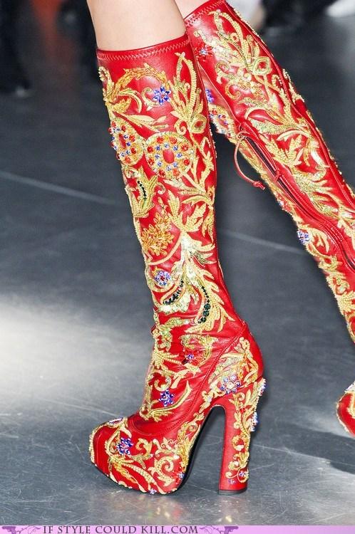 boots crazy shoes heels vivienne westwood - 6359896576