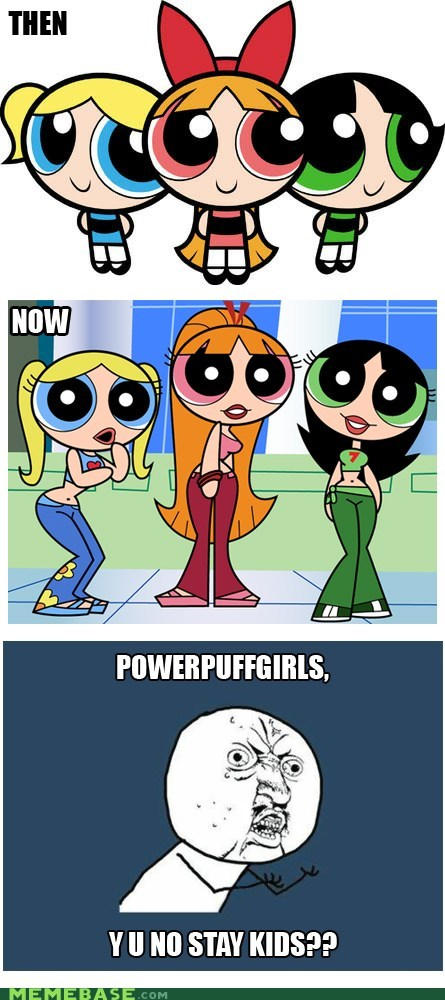 buttercup cartoons powerpuff girls Y U No Guy - 6359905280