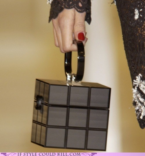 bags cool accessories purses rubiks cube - 6359913728