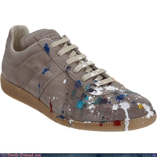expensive fashion paint shoes what - 6360142080
