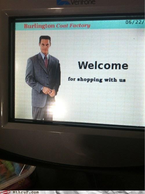 burlington coat factory welcome for shopping with welcome for shopping with us - 6360337152